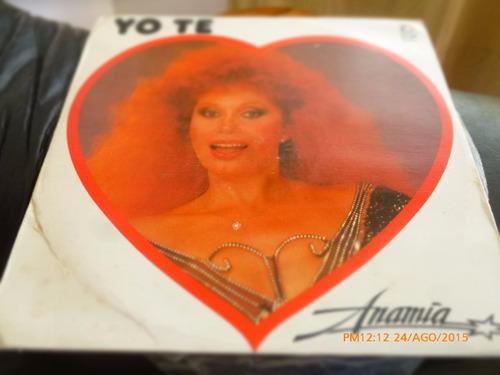 Vinilo Lp De Anamia  --yo Te Amo (u1209