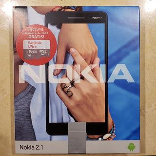 Celular Nokia 2.1 Nuevo En Caja Sellada De Fabrica