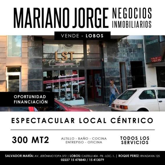 Local Centrico Frente A La Plaza Principal - Lobos