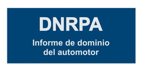 Informe De Dominio, Deudas De Patentes, Multas
