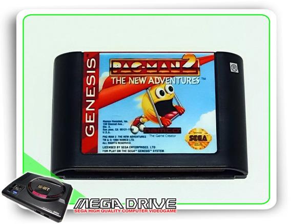 Pac-man 2 The New Adventures Original Genesis - Mega Drive
