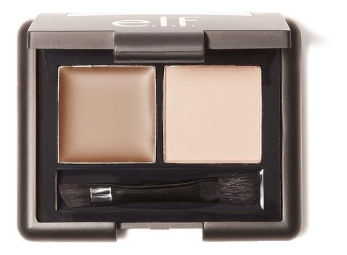 Elf Eyebrow Kit Maquillaje Cejas Duo Gel + Polvo - Claro, Mediano, Oscuro