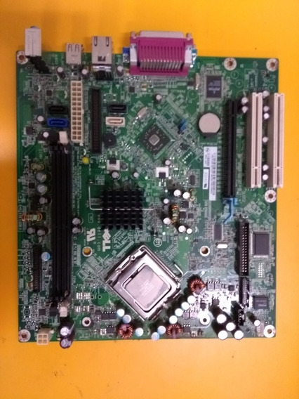 Placa Mae Dell 0ky237 Optiplex Gx 320 Suporte Dual Core
