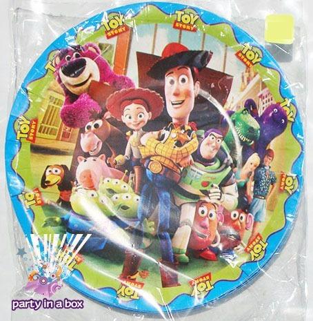 Fiesta Toy Story Platos Vasos Cajitas Dulceras Globos