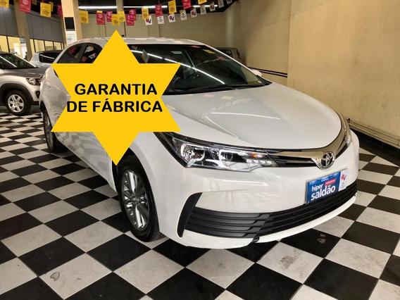 Toyota Corolla Gli 2018 - Garantia De Fábrica