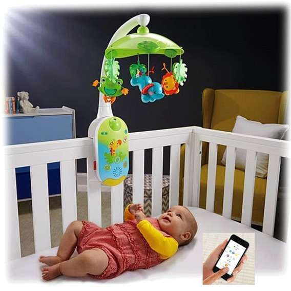 Proyector Movil 2 En 1 Fisher Price Smart Connect Cmk04 Msi