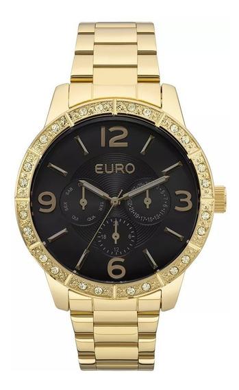 Relógio Euro Feminino Original Dourado Eu6p29agx/4p
