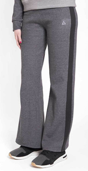 Pantalon Pull On New Gris Oscuro Mujer Le Coq Sportif