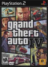 Patch Ps2 Gta Iv (grand Theft Auto Iv) Gta 4 - Frete 8,00