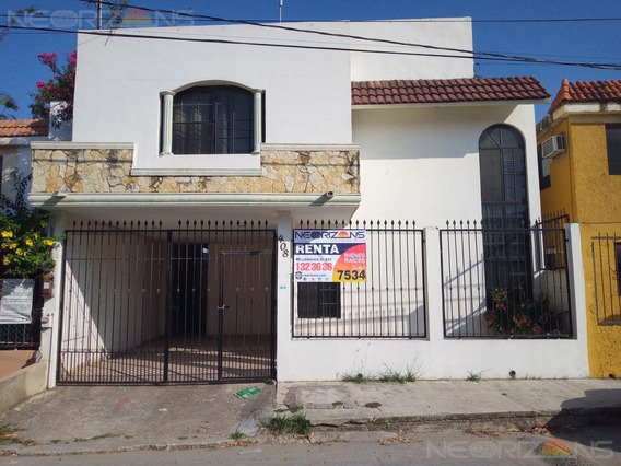 Moderna Casa En Renta En Colonia Ampliación Unidad Nacional, Ciudad Madero, Tamaulipas.