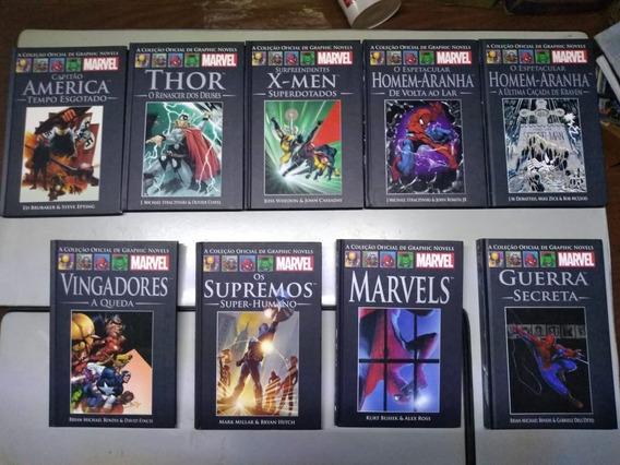 Marvel - Graphic Novel - Salvat Capa Preta - 9 Encadernados