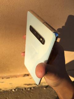 Celular Sansung Galaxy S10plus 128gb Branco-prisma