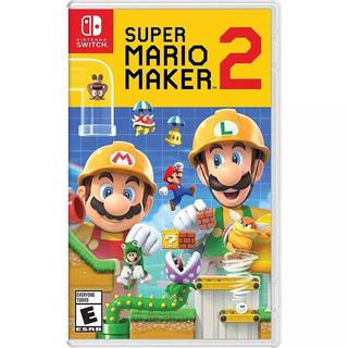 Super Mario Maker 2 Fisico Nintendo Switch Entrega Ya Enviog