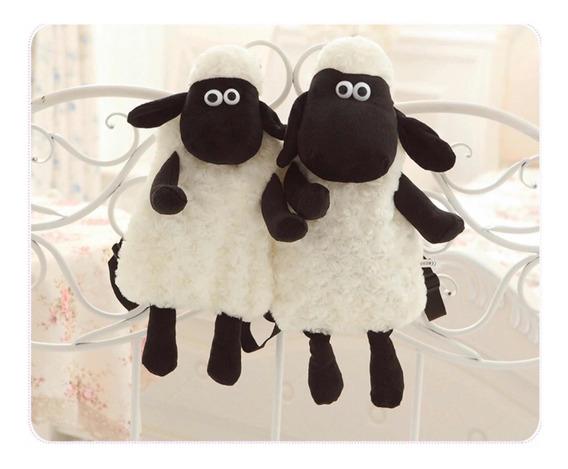 Mochila Ovelha Shaun Sheep Animais Adulto E Infantil