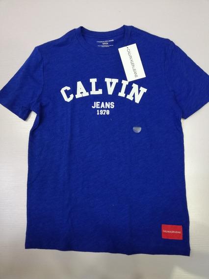Playera Calvin Klein De Caballero 100% Original Mod 40