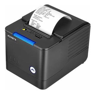 Impresora Térmica De Recibos Munbyn Usb Pos De 80 Mm, Con Gr