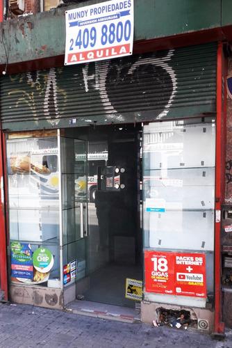 Alquilo Local Comercial Sobre 18 Alto Pasaje De Publico.
