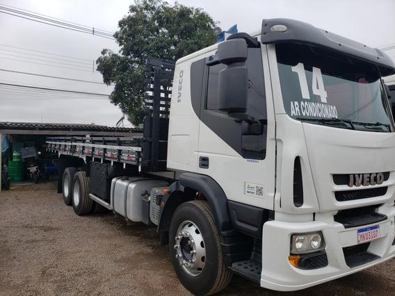 Iveco Tector 240e22 Ano 2014 6x2 Truck C/carroceria - 2014