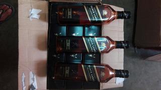 Whisky Johnnie Walker Etiqueta Negra ( X Mayor)