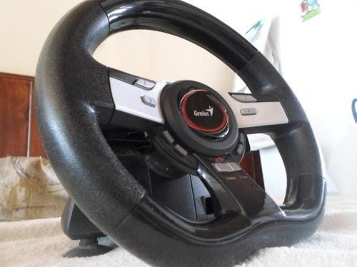Imagen 1 de 2 de Volante Genius Speed Wheel 5 Pro Para Pc Y Ps3