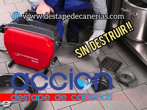 Imagen 1 de 10 de Destape De Cañerías Quito Servicio, Garantía Y Precio Justo