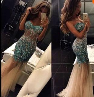 Vestido Formal Crystal