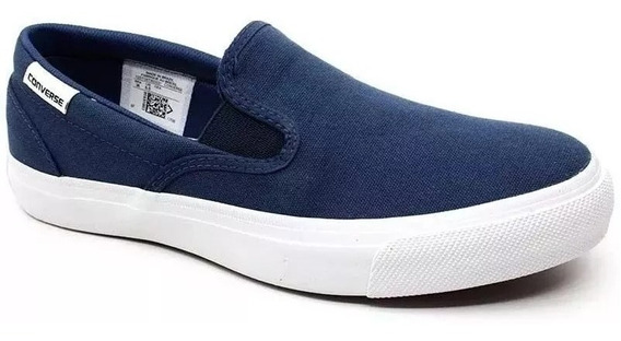 Tênis All Star Converse Slip On Azul