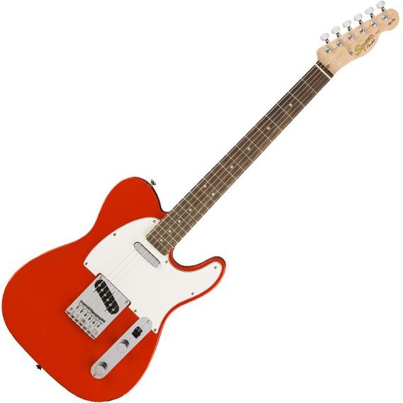 Guitarra Fender Squier Telecaster Affinity Mn Tele Vermelha