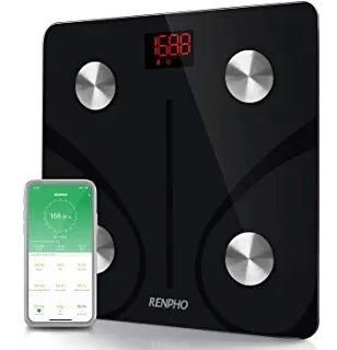 Renpho Bluetooth Body Fat Scale Smart Bmi Scale Digital Bath