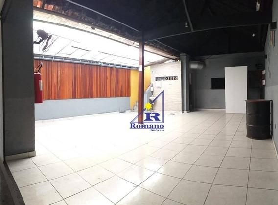 Salão Para Alugar, 200 M² Por R$ 4.900,00/mês - Tatuapé - São Paulo/sp - Sl0056