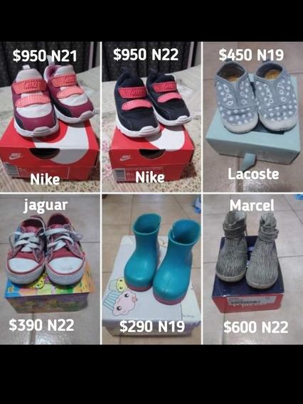 Calzado De Nena Usados Diferentes Num