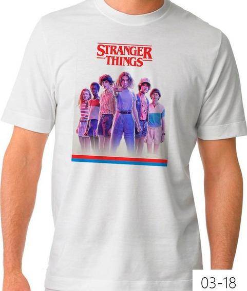 Playera Stranger Things Elenco 03-18