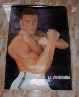 Afiches Postes Jean Claude Van Damme. Usado.