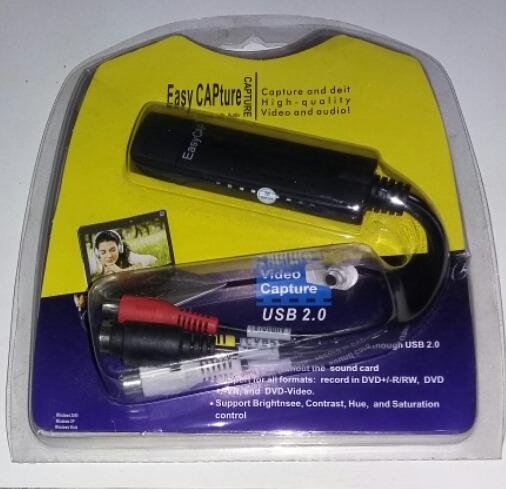 Easycapture Usb 2.0 Video Adapter Com Áudio