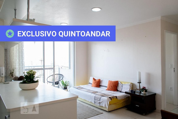 Apartamento No 19º Andar Mobiliado Com 2 Dormitórios E 1 Garagem - Id: 892953114 - 253114
