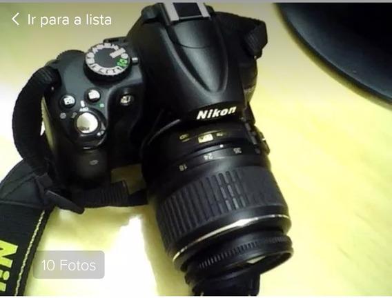 Nikon D5000 Com Duas Lentes