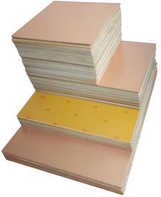 Placas De Fenolite Cobreada 40x30 Pci Circuito Impresso Pcb