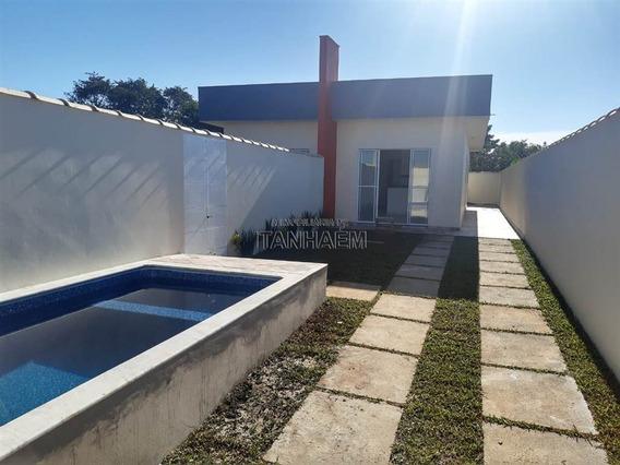 Casa Nova Com Piscina Para Financiar Em Itanhaém.
