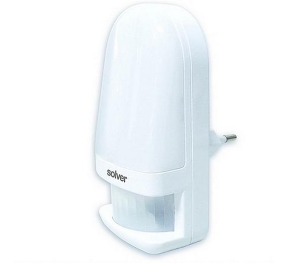 Luz Noturna Com Sensor De Presença 220 V - Solver Slm-202