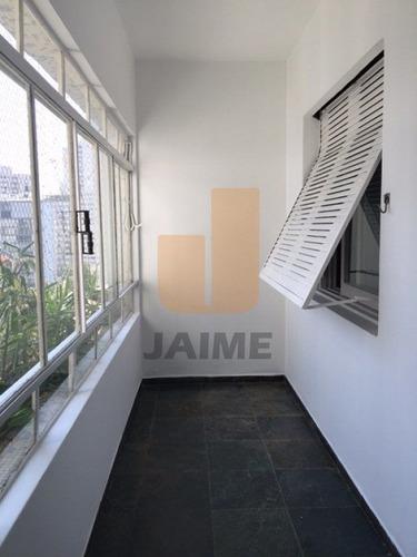 Apartamento Para Locação No Bairro Higienópolis Em São Paulo - Cod: Ja8625 - Ja8625