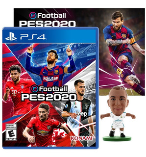 Juego Ps4 Pro Evolution Soccer Pes 2020 + Poster + Regalo