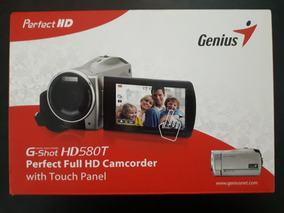 Câmera Filmadora Genius G-shot Hd580t Fullhd Com T