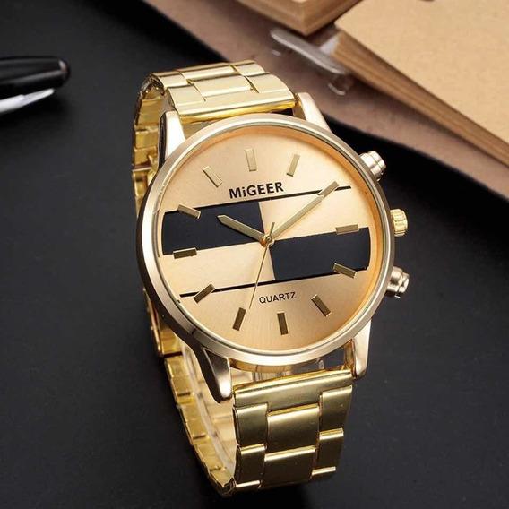 Relógio Dourado Importado