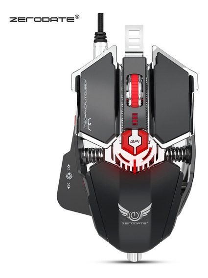 Zerodate Ld -ms500 Profissional Mecânico Gaming Mouse