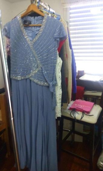 Vestido Fiesta Muy Elegante Largo - Para Señora