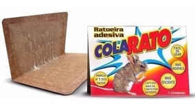 1 Cx Ratoeira Adesiva 20 Und Cola Rato Coloque Carrinho Li@