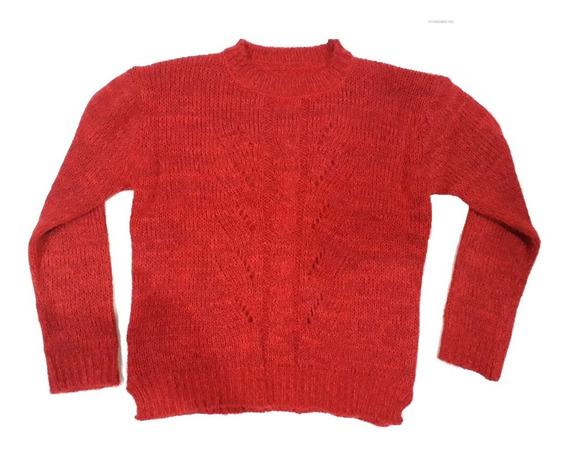 Sweater - Abrigo Tejido De Dama - Suéter De Mujer