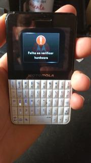 Celular Motorola Ex119 1/18 Ler Anuncio
