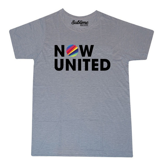 Camiseta Blusa T-shirt Now United Moda Tumblr Swag
