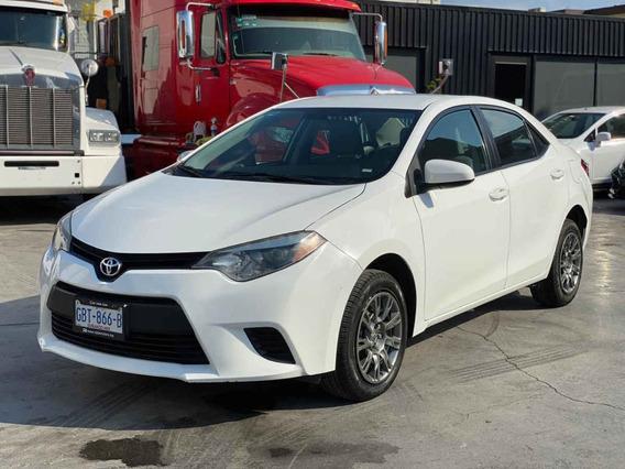 Toyota Corolla 2015 4p Base L4/1.8 Aut
